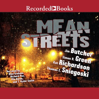 Mean Streets by Jim Butcher audiobook