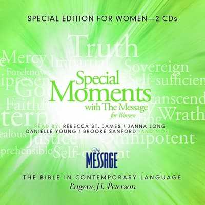 Special Moments with the Message for Women by Eugene H. Peterson audiobook