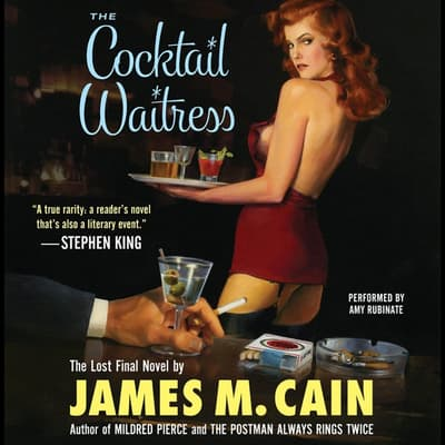 The Cocktail Waitress by James M. Cain audiobook