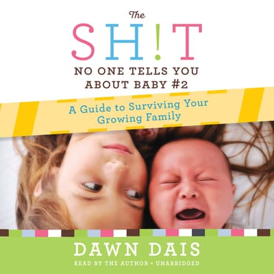 The Sh!t No One Tells You about Baby #2 by Dawn Dais audiobook