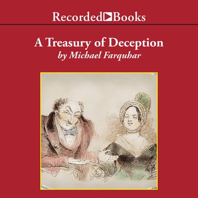 A Treasury of Deception by Michael Farquhar audiobook