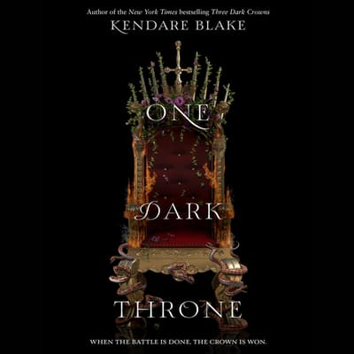 One Dark Throne by Kendare Blake audiobook
