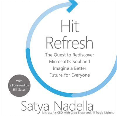 Hit Refresh by Satya Nadella audiobook