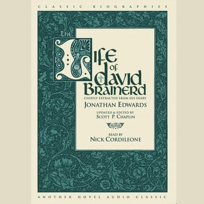 Life of David Brainerd by Jonathan Edwards audiobook