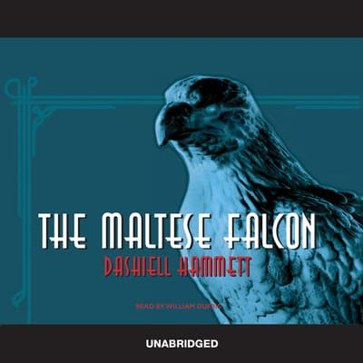 The Maltese Falcon by Dashiell Hammett audiobook