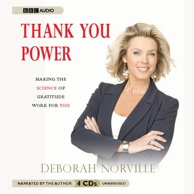 Thank You Power by Deborah Norville audiobook