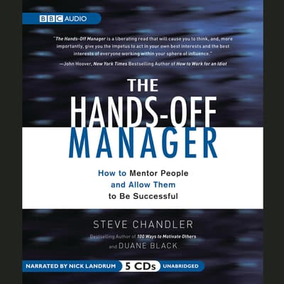 The Hands-Off Manager by Steve Chandler audiobook