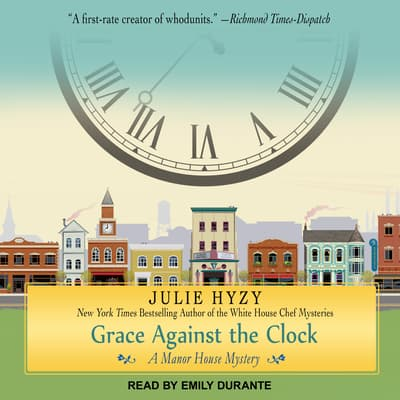 Grace Against the Clock by Julie Hyzy audiobook