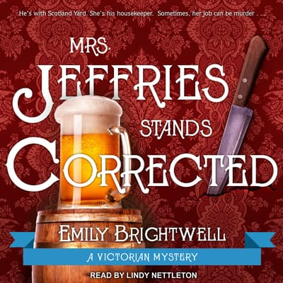 Mrs. Jeffries Stands Corrected by Emily Brightwell audiobook