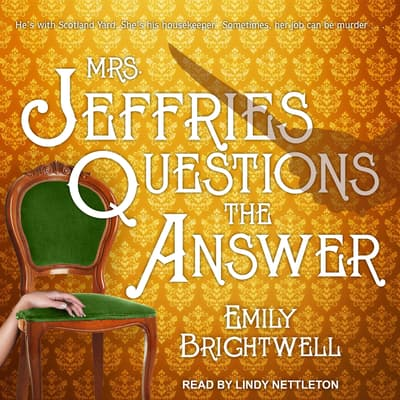 Mrs. Jeffries Questions the Answer by Emily Brightwell audiobook