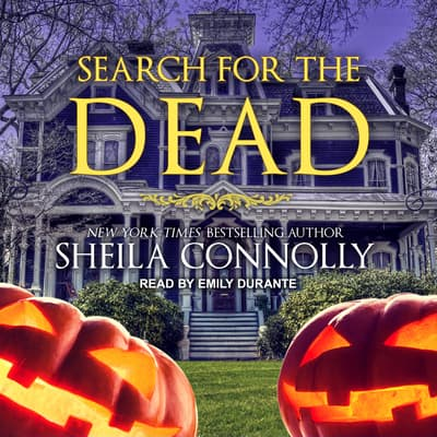 Search for the Dead by Sheila Connolly audiobook