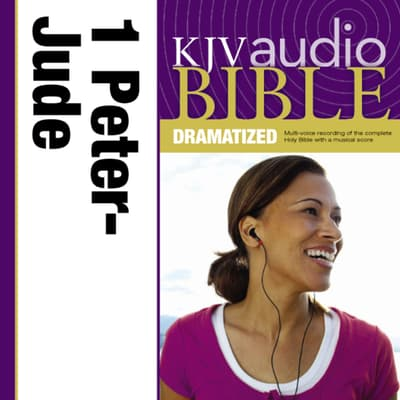 Dramatized Audio Bible - King James Version, KJV: (39) 1 and 2 Peter; 1, 2, and 3 John; and Jude by Zondervan audiobook