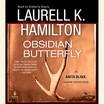 Obsidian Butterfly by Laurell K. Hamilton audiobook
