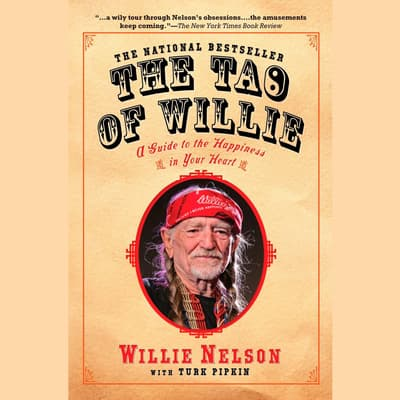 The Tao of Willie by Willie Nelson audiobook