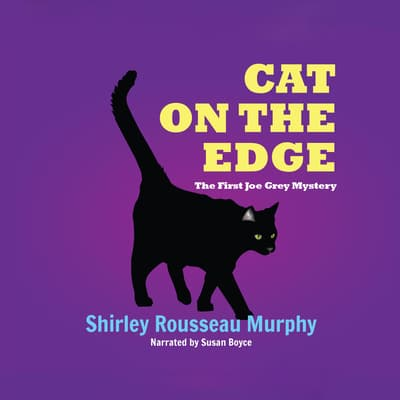 Cat on the Edge by Shirley Rousseau Murphy audiobook