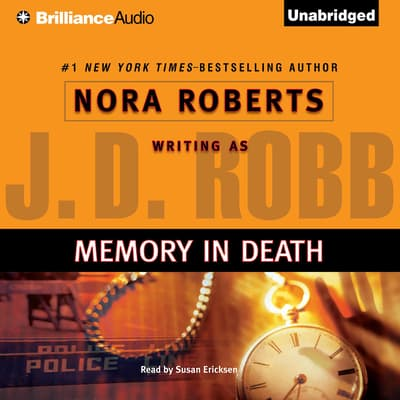 Memory in Death by J. D. Robb audiobook
