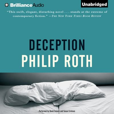 Deception by Philip Roth audiobook