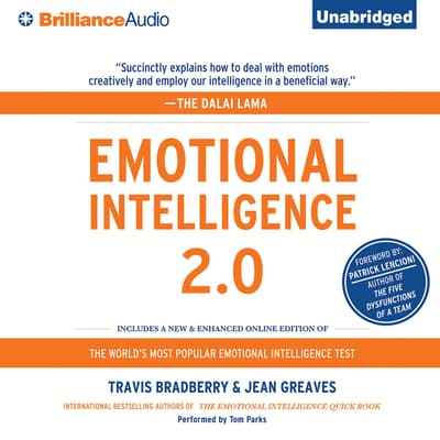 Emotional Intelligence 2.0 by Travis Bradberry audiobook
