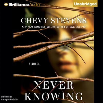 Never Knowing by Chevy Stevens audiobook