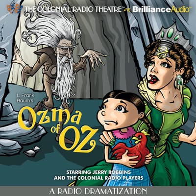 Ozma of Oz by L. Frank Baum audiobook
