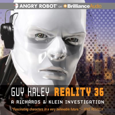 Reality 36 by Guy Haley audiobook