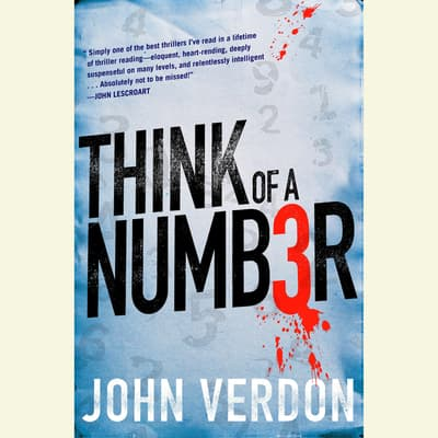 Think of a Number by John Verdon audiobook