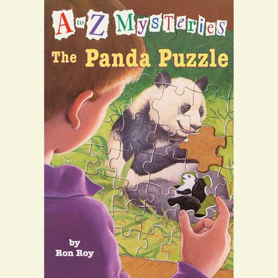 A to Z Mysteries: The Panda Puzzle by Ron Roy audiobook