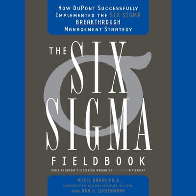 Six Sigma by Mikel Harry audiobook