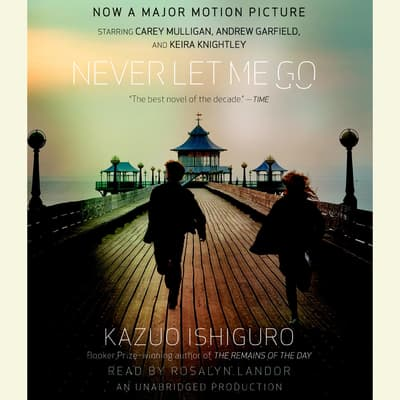 Never Let Me Go by Kazuo Ishiguro audiobook