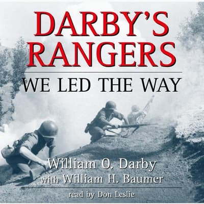 Darby's Rangers by William O. Darby audiobook