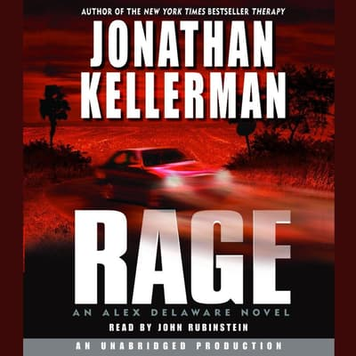 Rage by Jonathan Kellerman audiobook