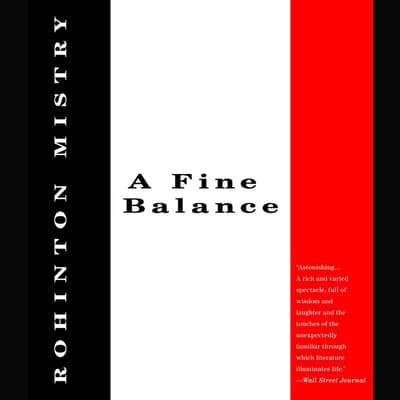 A Fine Balance by Rohinton Mistry audiobook