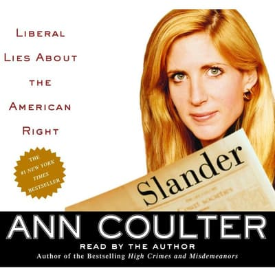 Slander by Ann Coulter audiobook