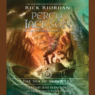 The Sea of Monsters by Rick Riordan audiobook