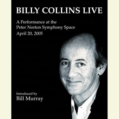Billy Collins Live by Billy Collins audiobook