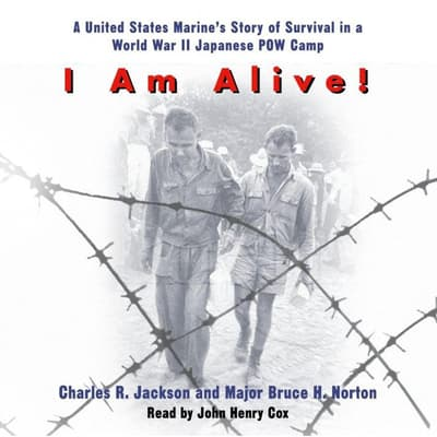 I Am Alive! by Charles R. Jackson audiobook