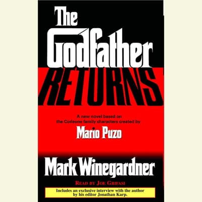 The Godfather Returns by Mark Winegardner audiobook
