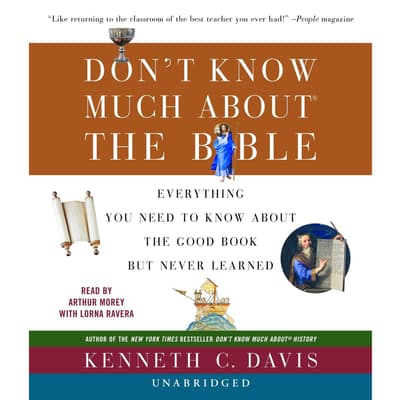 Don't Know Much about the Bible by Kenneth C. Davis audiobook