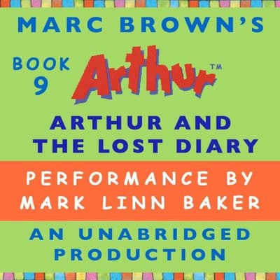 Arthur and the Lost Diary by Marc Brown audiobook