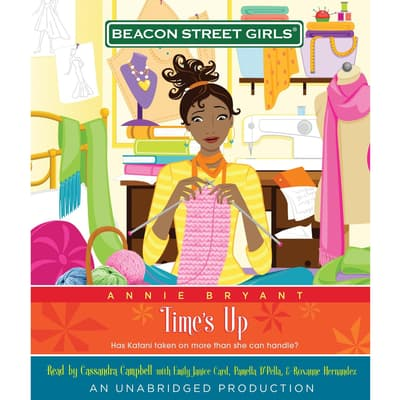 Beacon Street Girls #12: Time's Up by Annie Bryant audiobook