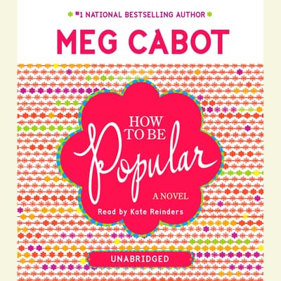How to Be Popular by Meg Cabot audiobook