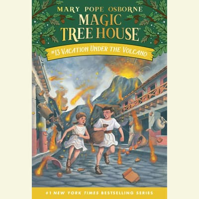 Vacation Under the Volcano by Mary Pope Osborne audiobook