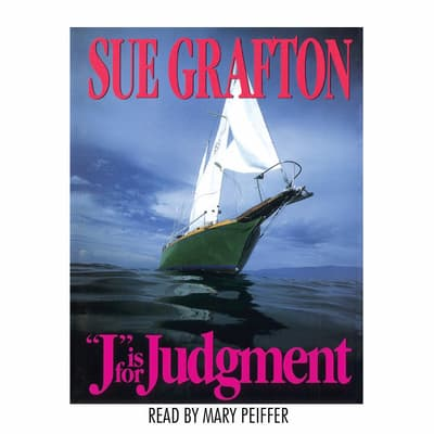 J Is For Judgment by Sue Grafton audiobook
