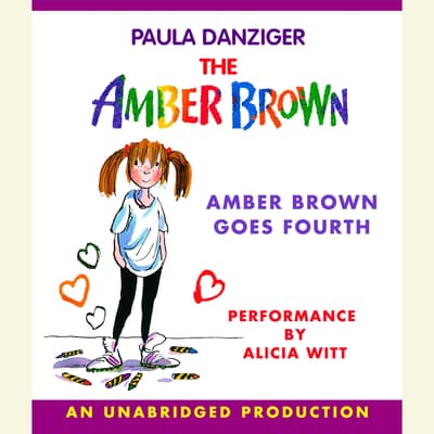 Amber Brown Goes Fourth by Paula Danziger audiobook