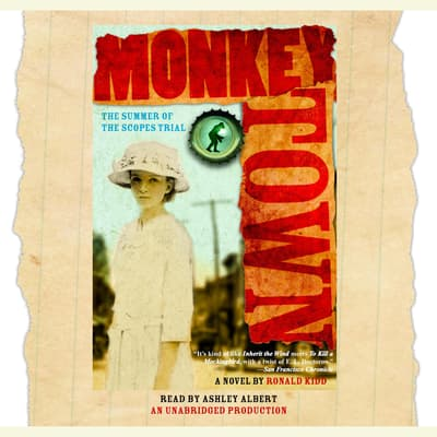 Monkey Town by Ronald Kidd audiobook