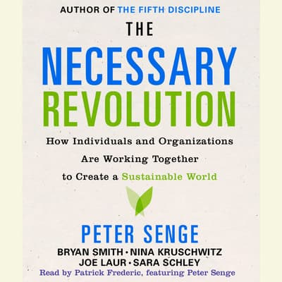 The Necessary Revolution by Peter M. Senge audiobook