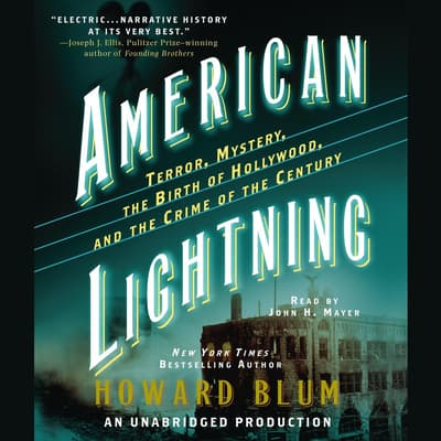 American Lightning by Howard Blum audiobook