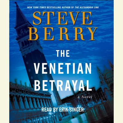 The Venetian Betrayal by Steve Berry audiobook