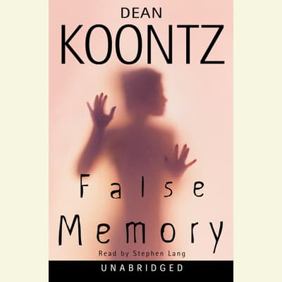 False Memory by Dean Koontz audiobook
