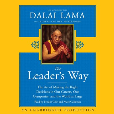 The Leader's Way by The Dalai Lama audiobook